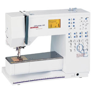 Электронная швейная машина Virtuosa 153 QE Bernina