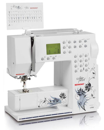 Швейная машина Bernina Activa 230 White Pearl Edition