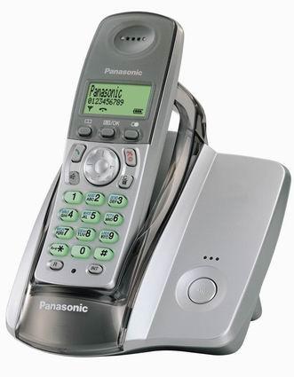 Беспроводной телефон dect panasonic kx-tcd215rus