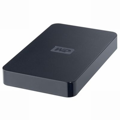WD Elements Portable 750Gb /BABV7500ABK-EESN/ USB Black внешний жесткий диск