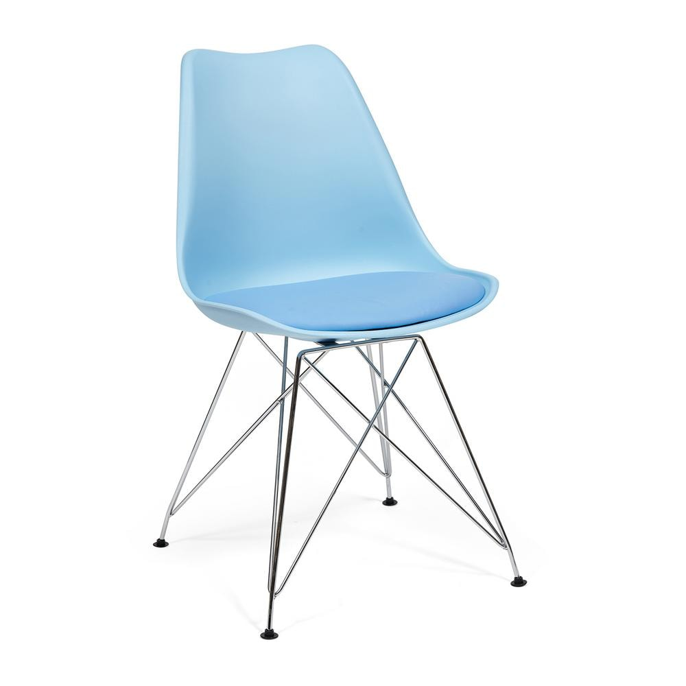 Стул Secret De Maison Tulip Iron Chair EC-123 blue
