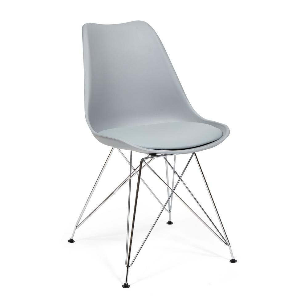 Комплект стульев Secret De Maison Tulip Iron Chair EC-123 grey