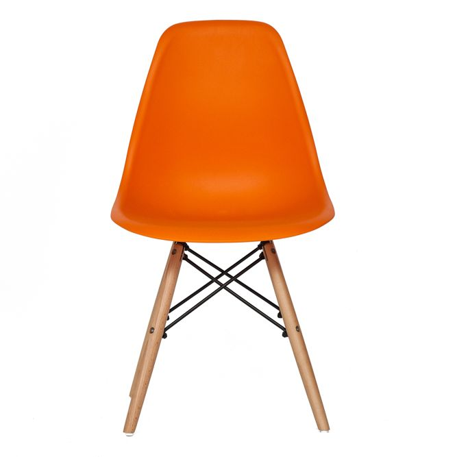 Комплект из шести стульев Secret De Maison Tolix-Eames Cindy Eames 001 orange