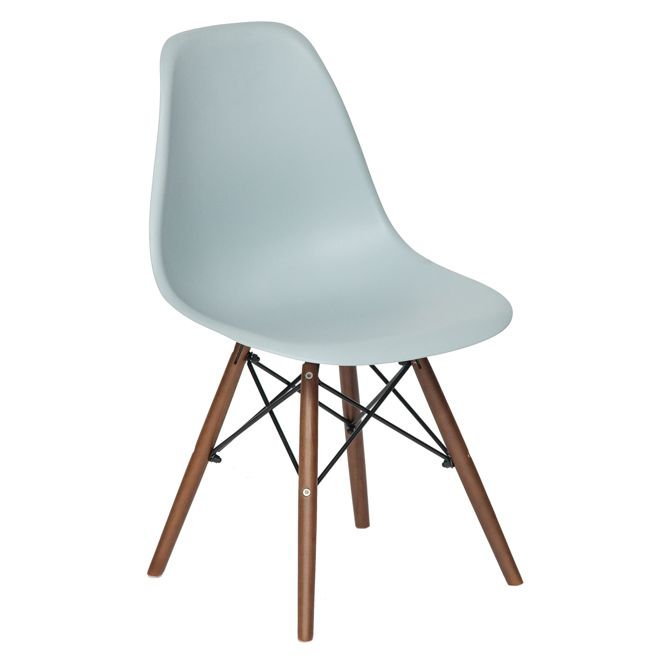 Стул Secret De Maison Tolix-Eames Cindy Eames 001 grey dark brown