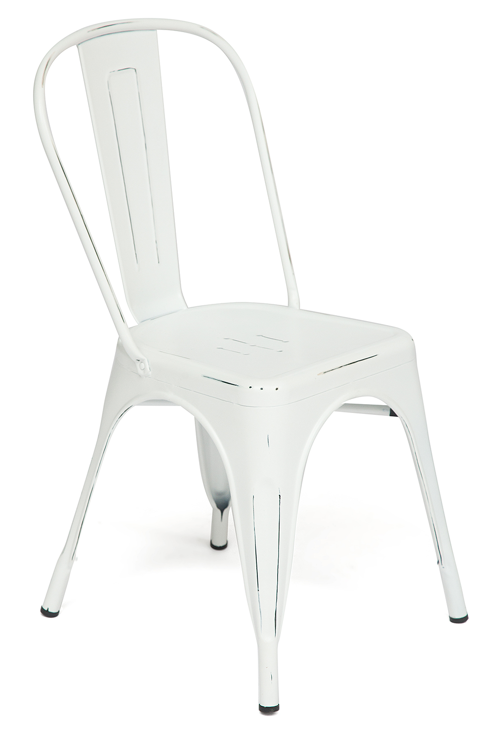 Стул Secret De Maison Tolix-Eames Loft Chair butter white vintage