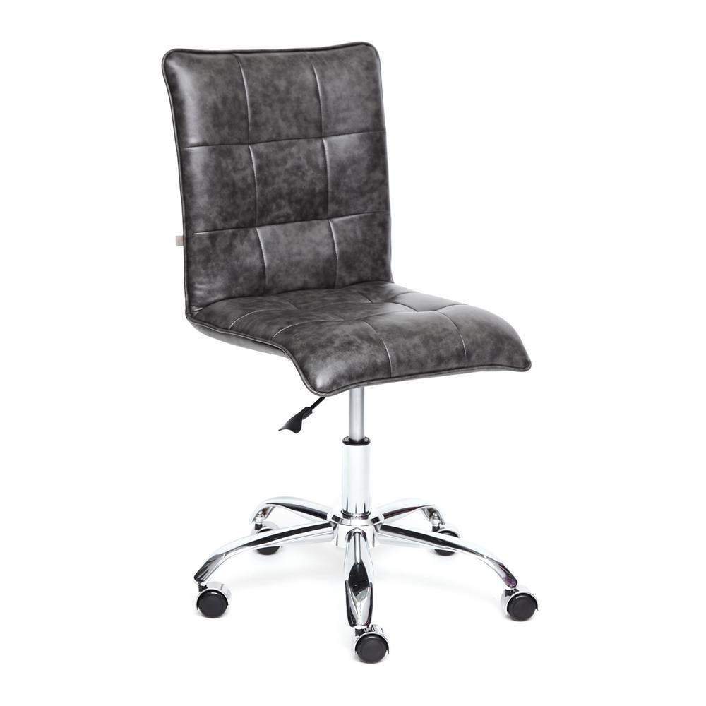 Кресло TetChair Zero leather grey 2tone