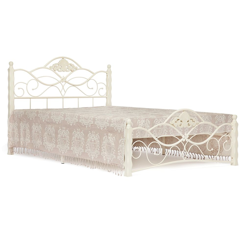 Кровать TetChair Canzona King Bed white